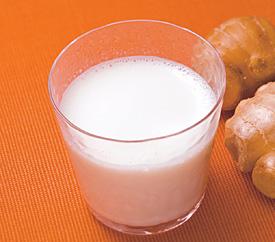 しょうがミルク