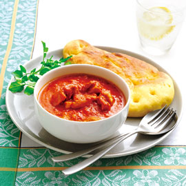 トマトと牛乳でつくるチキンカレー